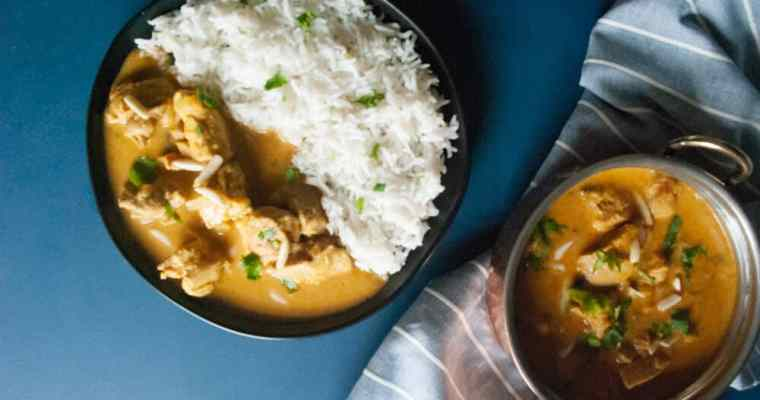 How to make a delicious chicken korma – mild Indian chicken curry