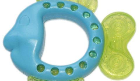 Прорезыватель для зубов с водой