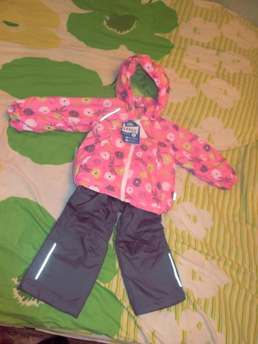 Куртка и брюки Lassie для девочки. Осень