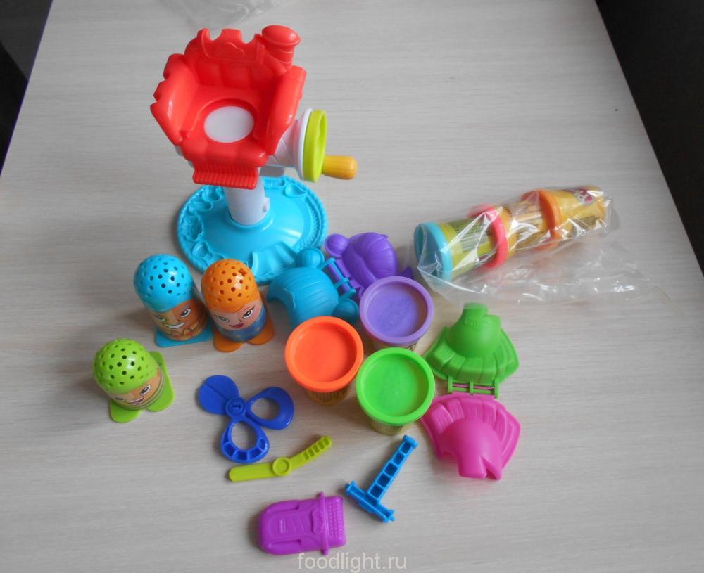 "Play Doh ""Сумасшедшие прически"""