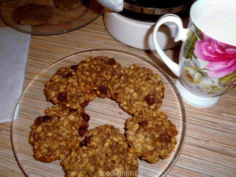 овсяные печенья без муки
