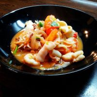 Treat from the sea: Vietnamese spicy stir-fried squid (Mực xào cay)