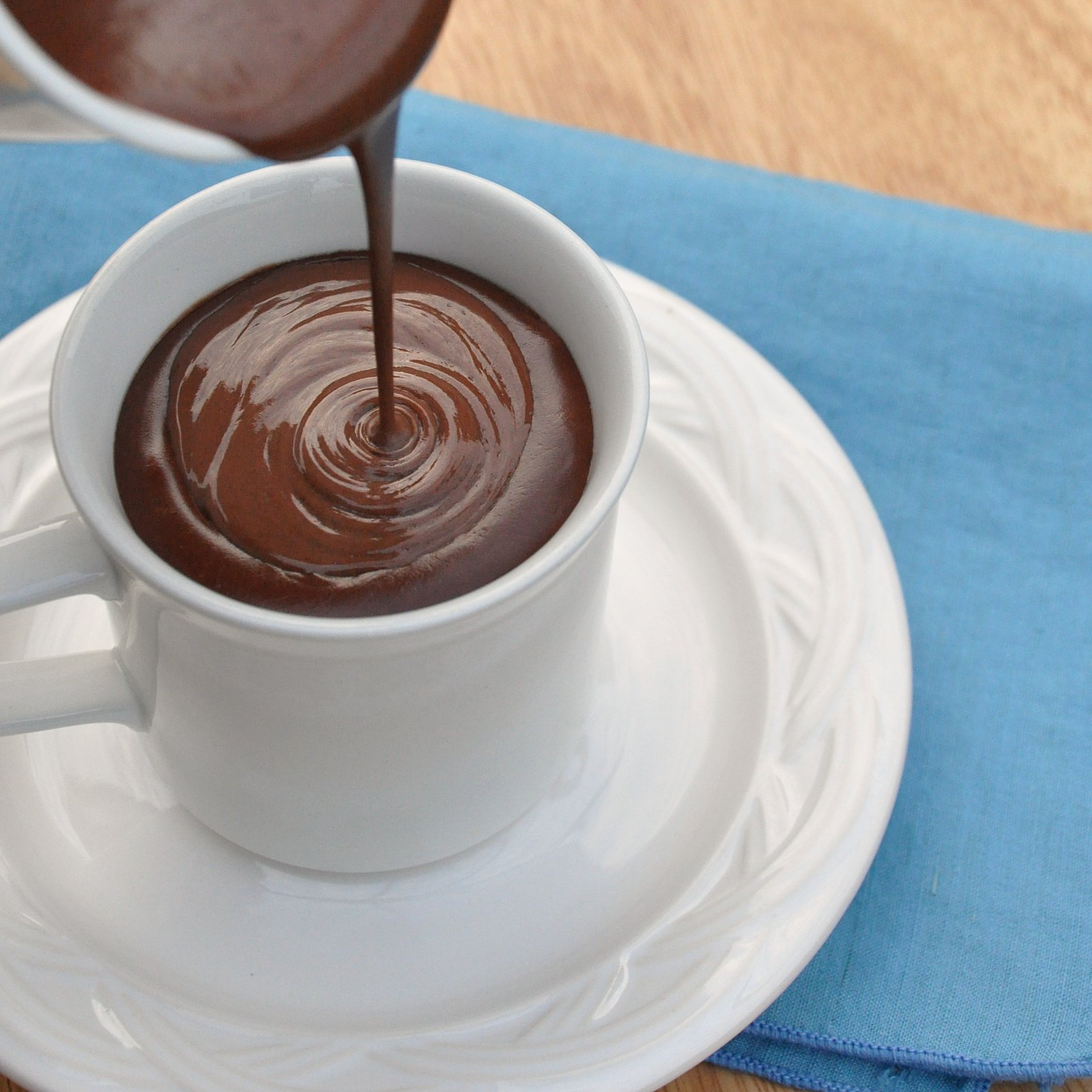 Image result for dark hot chocolate
