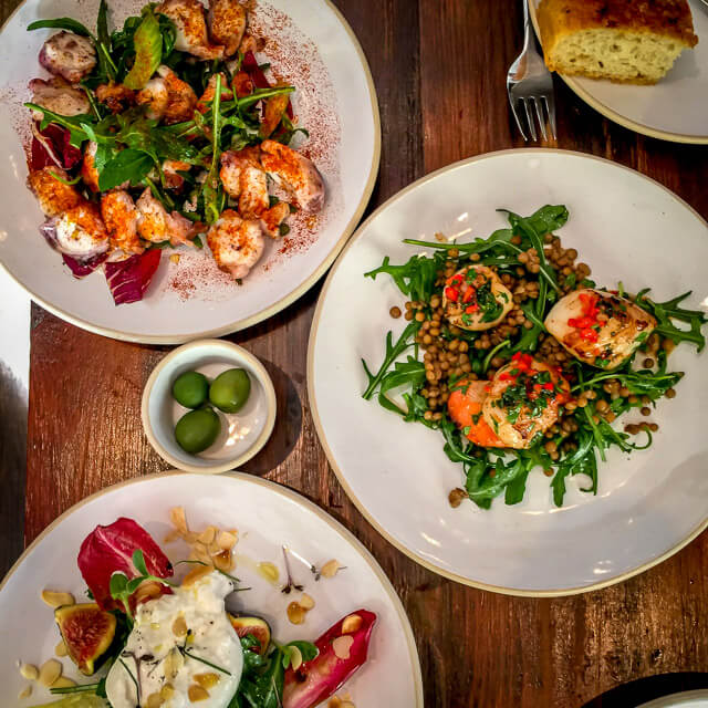 Where to find good food in London