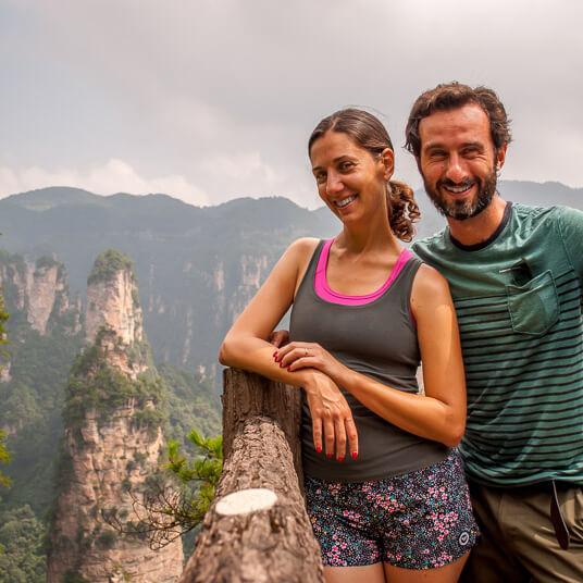 Guide to walk the Zhangjiajie natural park in China: