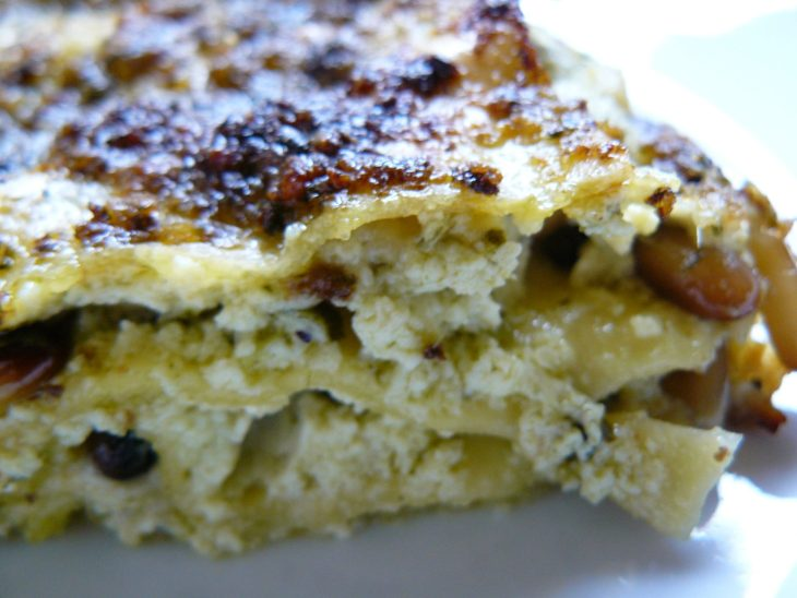 Lasagne_pesto_ricotta_closeup,_June_2007