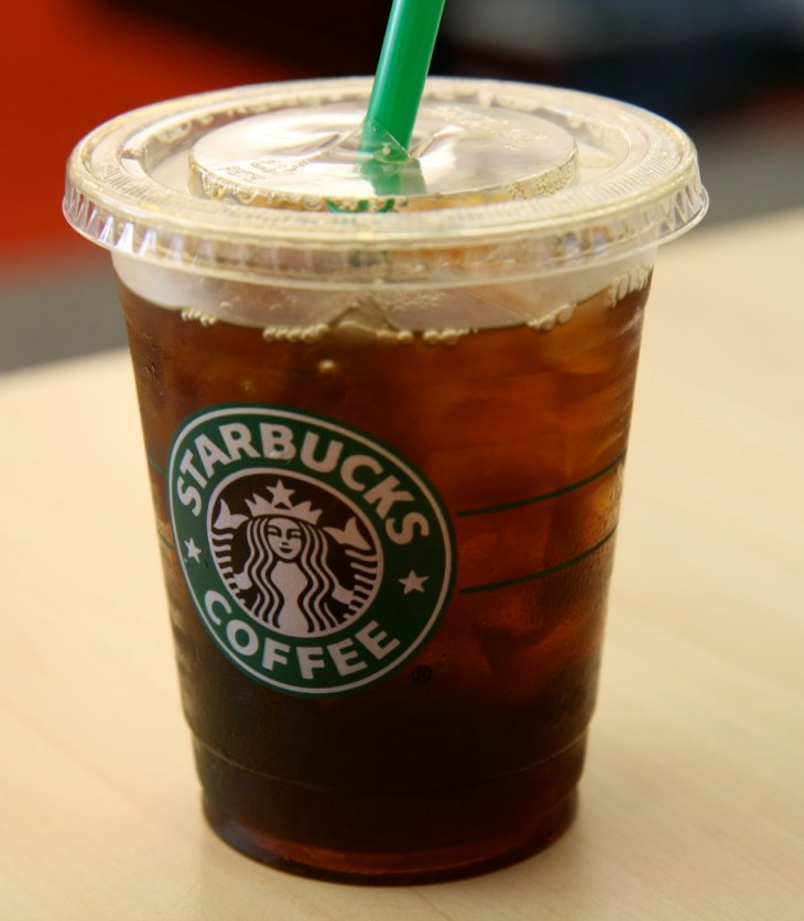 starbucks iced cofee