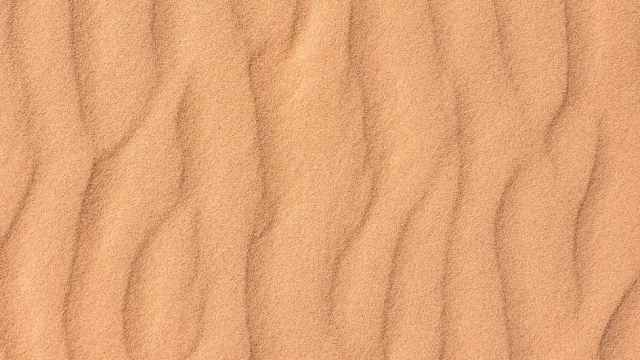textured sandy surface in desert