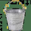 galvanized pail image