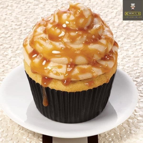 Caramel Pudding cupcake