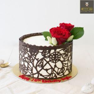 customized anniversary cake