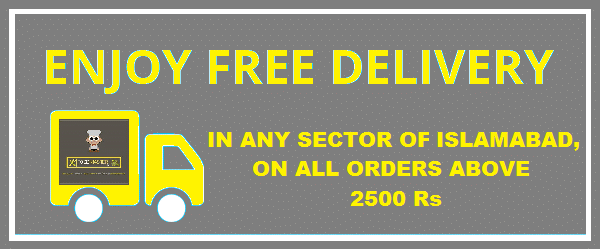 free home delivery In Pakistan