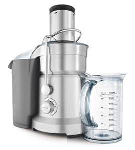 A typical centrifugal juicer