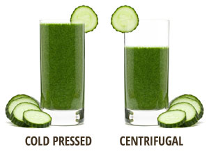 a comparison of cold pressed and centrifugal juicers