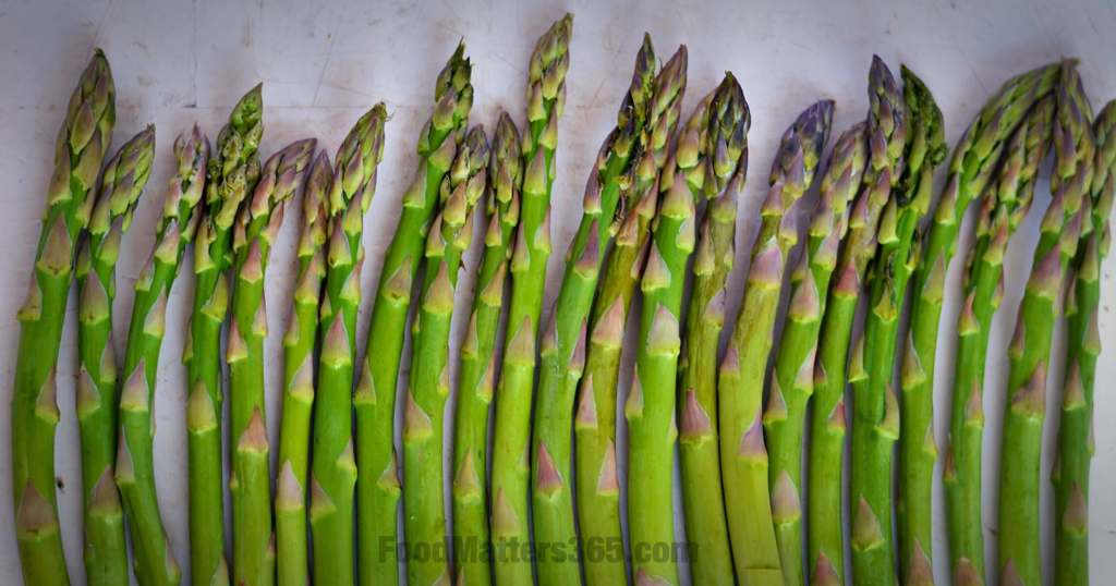 roasted asparagus food matters 365