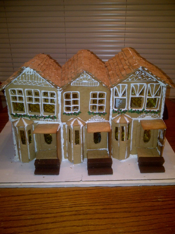 Gingerbread house - unfinished