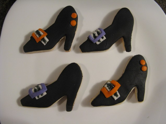 Witch shoe cookies-resized