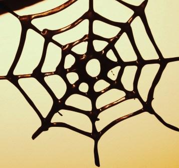 How to make an edible spider web/cobweb