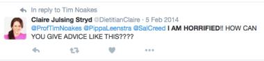 claire strydom tweet