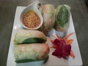 Mai Thai's Fresh Spring Rolls