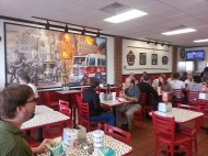 Firehouse Subs' Dining Area