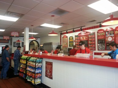 Firehouse Subs Inside View