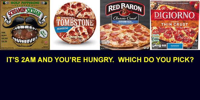 WHICH FROZEN PIZZA PASSED OUR TASTE TEST?