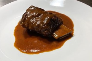 Decadent Braised Short Ribs in Reduced Sauce