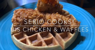 chicken waffles michael serio