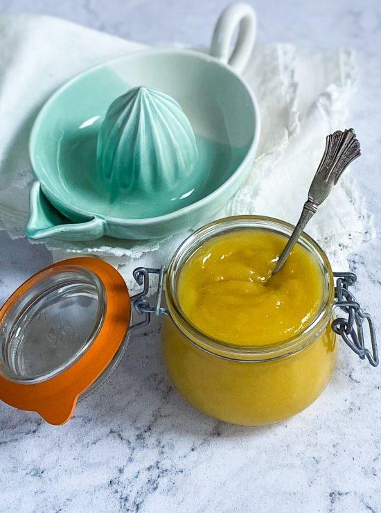 Lemon Curd Recipe - www.foodnerd4life.com