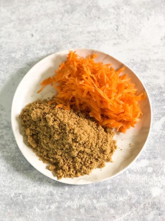 Carrot Cake Ingredients - food recipes - www.foodnerd4life.com