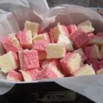 Steph's Birthday Treat {Recipe – Homemade Coconut Ice}