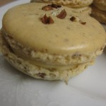 Pecan Pie Macarons with Maple Syrup Filling Recipe