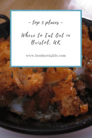 Top Bristol Eats Pin