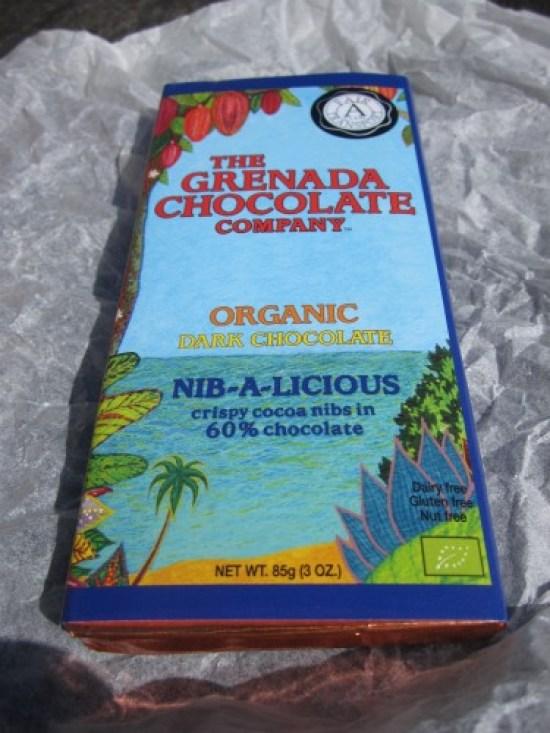 Grenada Chocolate Company Nib-a-licious Wrapped - www.foodnerd4life.com