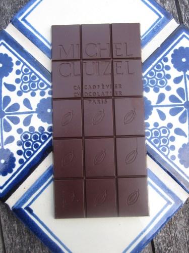 Michel Cluizel Los Anconès Chocolate Bar Unwrapped - www.foodnerd4life.com