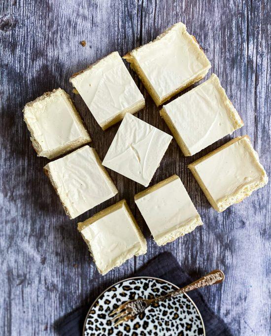 Baked New York Cheesecake Recipe - www.foodnerd4life.com