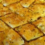Savoury Brie and Walnut Baklava