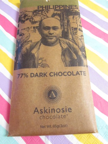 Askinosie 77% Dark Chocolate - www.foodnerd4life.com