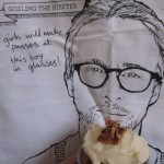 Ryan Gosling Valentine Canadian Cupcakes {Recipe – Maple Syrup and Bacon Cupcakes}