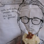 Ryan Gosling Bacon and Maple Syrup Cupcake