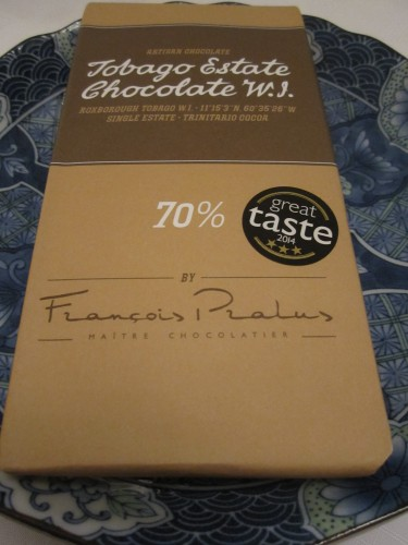 François Pralus 70% Tobago Chocolate - www.foodnerd4life.com