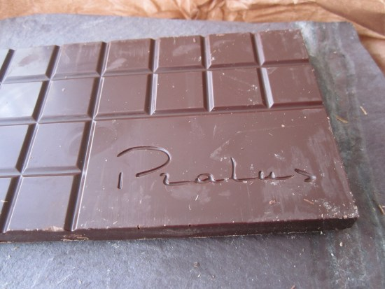 Parlus Peru 75% Chocolate Bar unwrapped - www.foodnerd4life.com