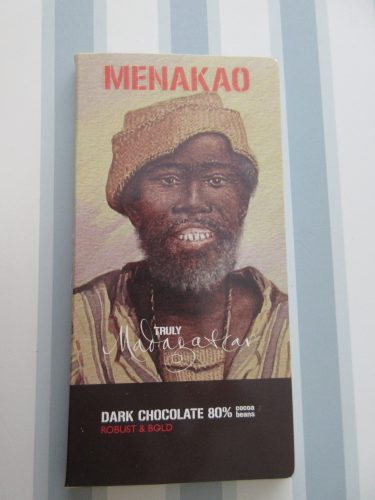 Menakao – Madagascar 80% Chocolate Bar - www.foodnerd4life.com