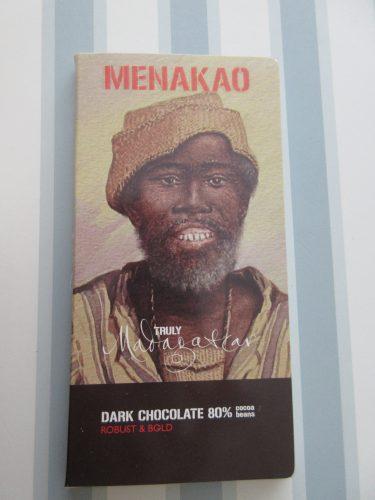 Menakao – Madagascar 80% Chocolate Bar - www.foodnerd4life.com