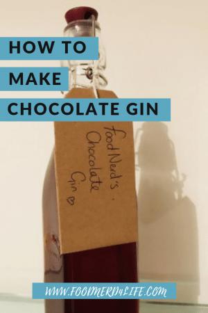 Chocolate Gin at Home Pin