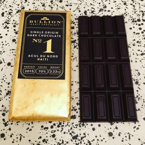 Bullion No.1 Chocolate - www.foodnerd4life.com
