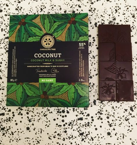 Chocolate Tree Coconut Milk Chocolate Bar - www.foodnerd4life.com