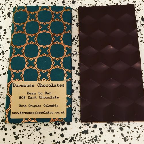 Dormouse Columbia Chocolate Bar - www.foodnerd4life.com