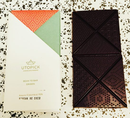 Utopick Chocolate Columbia Bar - www.foodnerd4life.com